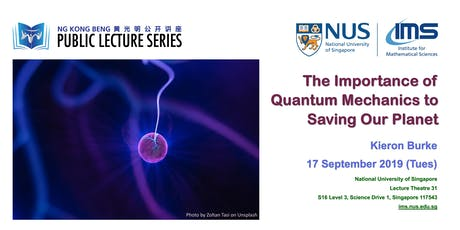 The Importance of Quantum Mechanics to Saving Our Planet tickets