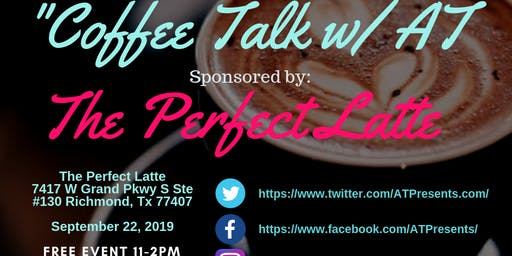 "ATPresents ""Coffee Talk w/ AT"" Celebrity Host Amber Townsend ""Sip & Shop"""