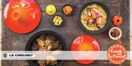Huppin's Kitchen Event: Lunch with Le Creuset and Fleur de Sel