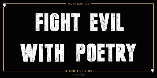 Fight Evil With Poetry // Artist Showcase & Art Gallery