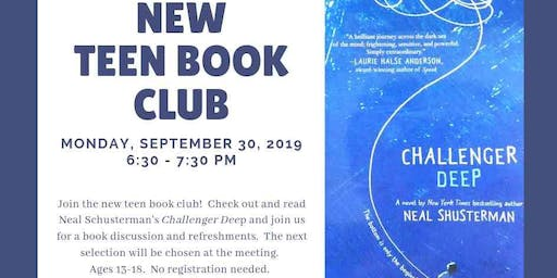 New teen book club