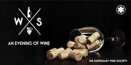 THE DISPENSARY Wine Society tickets