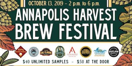 Annapolis Harvest Brew Fest October 13, 2019 tickets