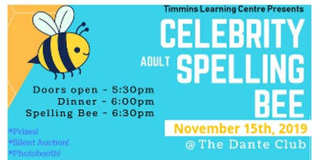 TLC Adult Celebrity Spelling Bee! tickets