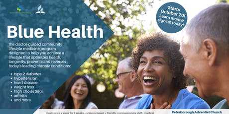 The Blue Health Program - Peterborough tickets