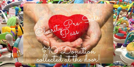 Charity Pre-Sale at Treasured Once Again tickets