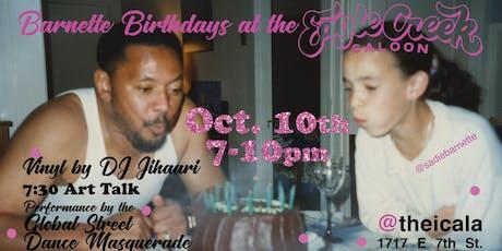 Barnette Birthdays at The New Eagle Creek Saloon! tickets