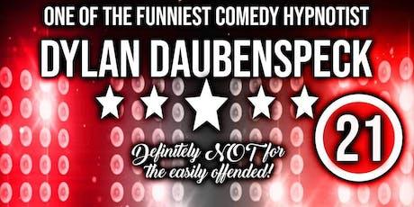 Dylan Daubenspeck The Comedy Hypnotist in Stage on Herr tickets