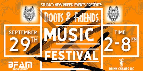 BOOTS & FRIENDS MUSIC FESTIVAL  tickets