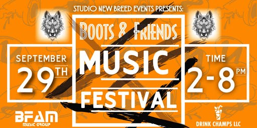 BOOTS & FRIENDS MUSIC FESTIVAL