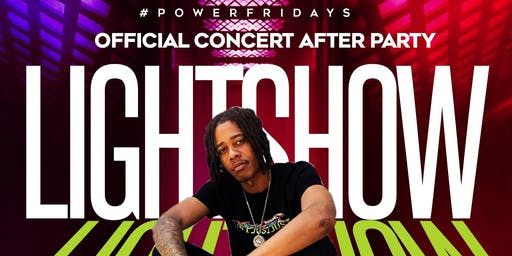 Lightshow At Power Friday's !