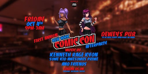 OWA Presents The 1st  NYCC  AfterParty