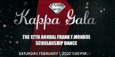 THE TWELTH ANNUAL FRANK F. MONROE SCHOLARSHIP GALA