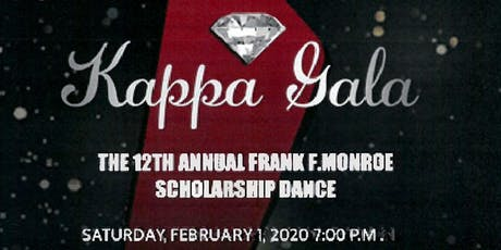 THE TWELTH ANNUAL FRANK F. MONROE SCHOLARSHIP GALA tickets