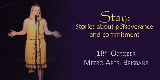 Life Out Loud Storytelling: Stay