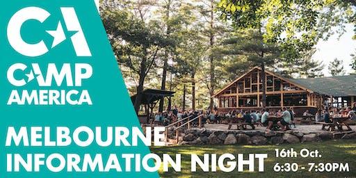 Melbourne - Camp America Info Session