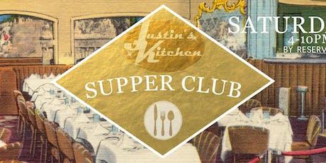 Supper Club October tickets