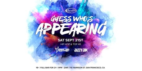 Guess Who's Appearing ft. Surprise LIVE Performer (Ages 18+ | Full Bar For 21+) tickets