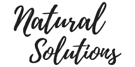 Natural Solutions  at Inner Energy Studio tickets