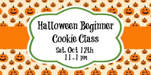 Halloween Beginner Cookie Class