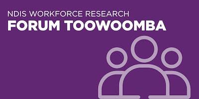 NDIS Workforce Research Forum Toowoomba