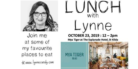 Lunch with Lynne  - Lynne Cazaly - OCTOBER tickets