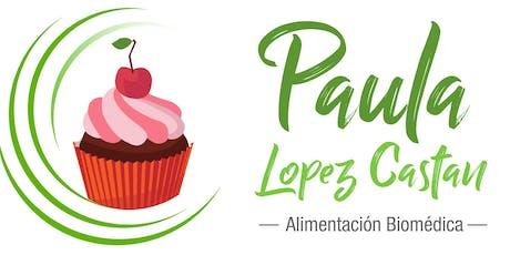 Taller de Pastelería Integral Libre de gluten, lácteos y azúcar entradas