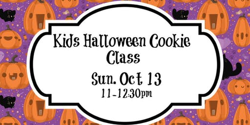 Kids Halloween Cookie Class