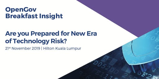 Are you Prepared for New Era of Technology Risk?