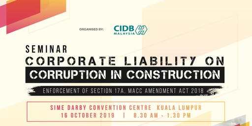 Seminar Corporate Liability On Corruption In Construction
