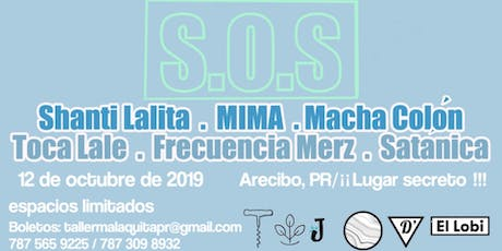 S.O.S Evento musical a beneficio de los espacios de arte independientes: El tickets