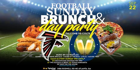 Football Sunday Brunch & Day Party tickets
