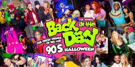 Thursday Oct 31 - The Fresh Prince Of Bel-Air 90's Halloween Parade AfterParty tickets