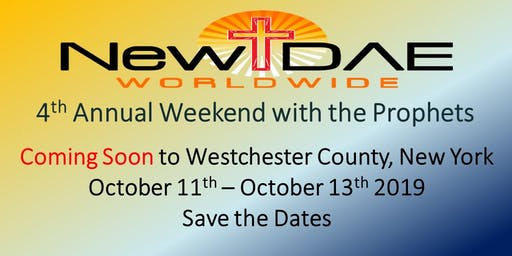 Weekend of the Prophets: The Convergence of Greatness