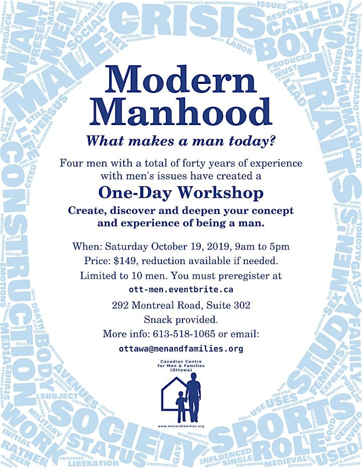 Discovering the Modern Man - Workshop image
