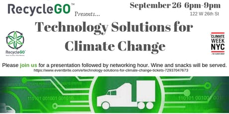Technology Solutions for Climate Change  tickets
