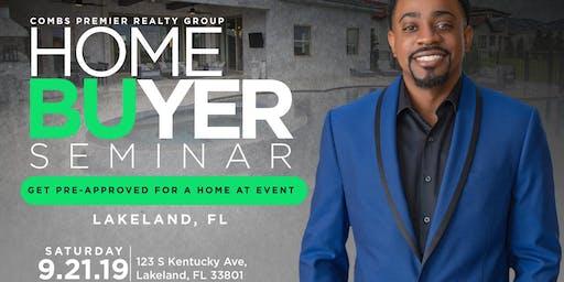 Free Lakeland Homebuyers Seminar by Combs Premier Realty Group