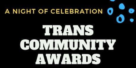 Trans Community Awards tickets