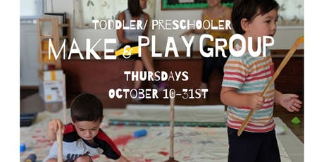 Make & Play Group (October 10, 17, 24, 31) tickets