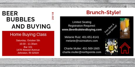 Beer, Bubbles, and Buying! - Home Buying Class tickets