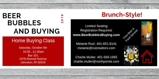 Beer, Bubbles, and Buying! - Home Buying Class