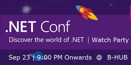 .Net Conf 2019 Watch Party -Trivandrum  tickets