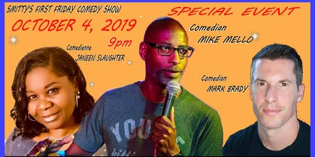 Smitty's First Friday Comedy Show tickets