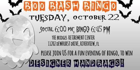 Boo Bash Bingo (Win Designer Handbags) tickets