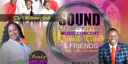 Sound of Worship Dinner w/ Danielle Taylor & Friends