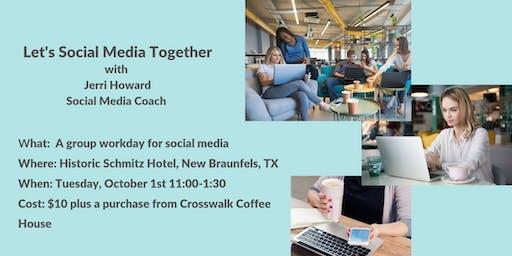 Let's Social Media Together
