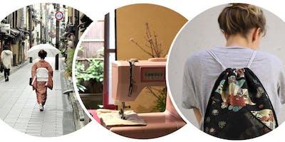 Créez votre propre sac avec de précieux Kimonos Japonais