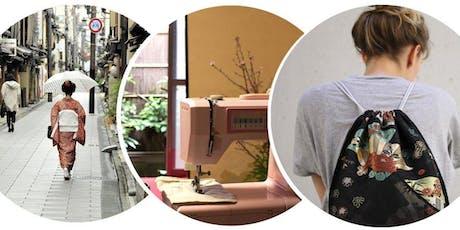 Créer un sac avec de précieux Kimonos Japonais billets