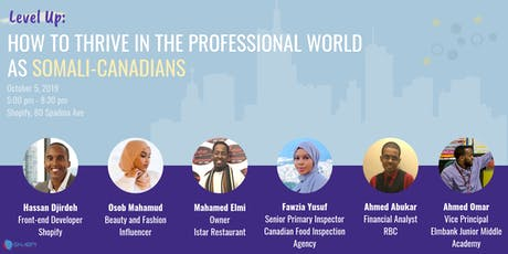 Level Up: How to Thrive in the Professional World as Somali-Canadians tickets