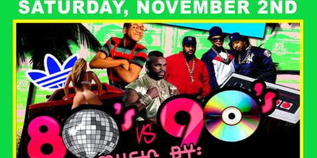 80Vs90sPartyw/Sheastie Boys,AGhoul'sNight Out,HollywoodTrashed tickets